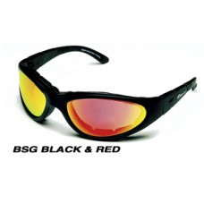BSG BLACK - CRIMSON RED